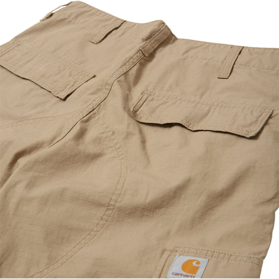 REGULAR CARGO PANT-I015875 - Cargo Pants - Bukser - Regular - LEATHER RINSED - 4